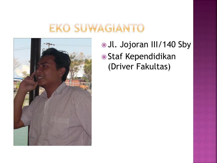 Eko Suwagianto