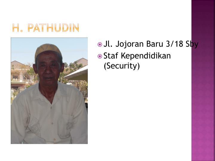 h. pathudin