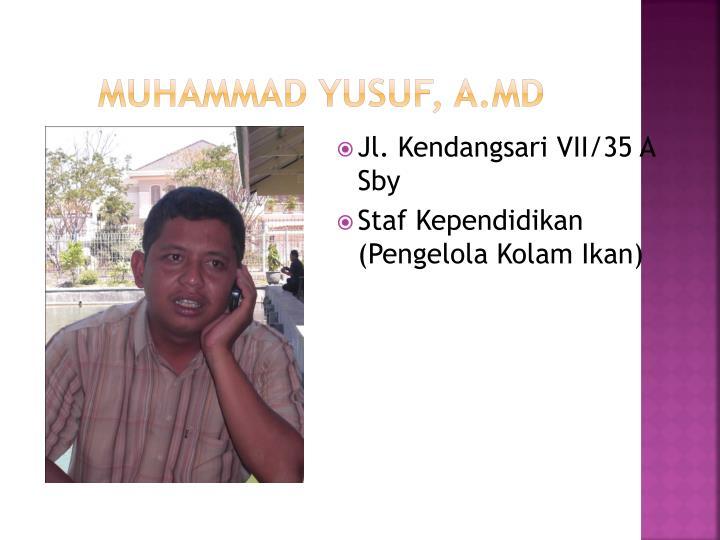 Muhammad Yusuf, A.Md