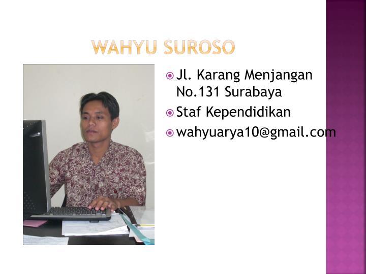 Wahyu Suroso