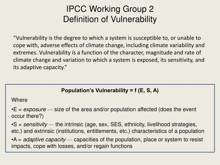 IPCC Working Group 2
