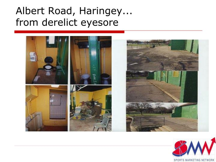 Albert Road, Haringey...