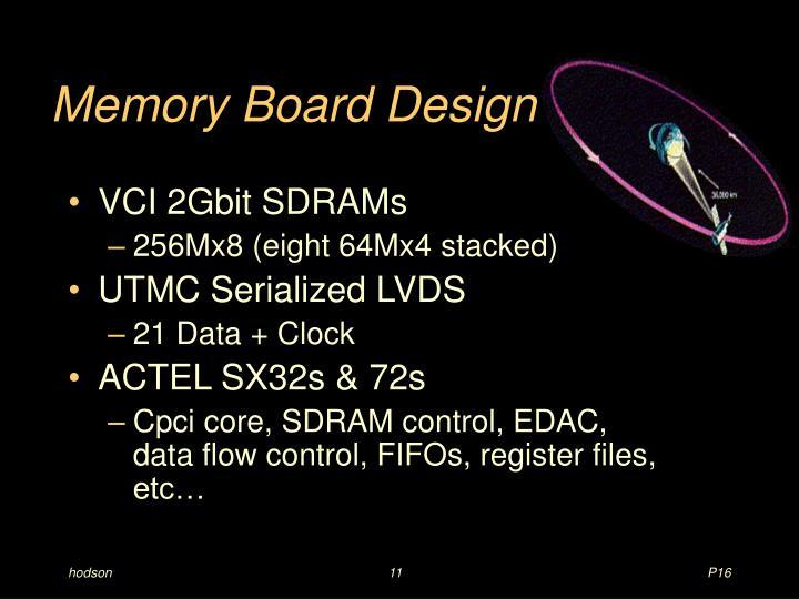 Memory Board Design