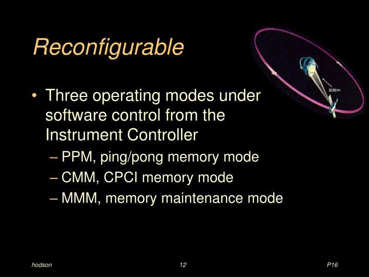 Reconfigurable
