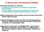 2 nanoscale confinement of matter