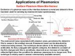 applications of plasmonics3