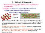 ii biological substrates1