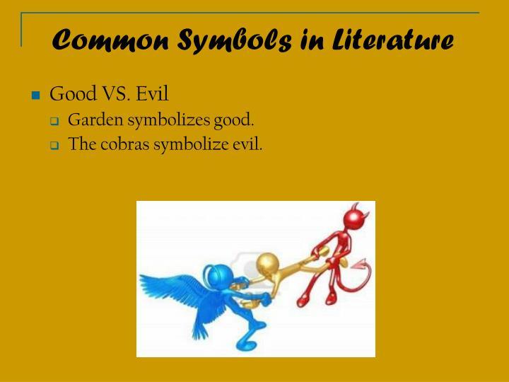 popular symbols in literature