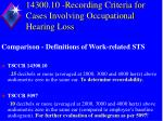 14300 10 recording criteria for cases involving occupational hearing loss5