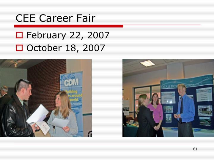 CEE Career Fair
