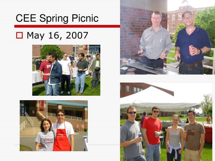 CEE Spring Picnic