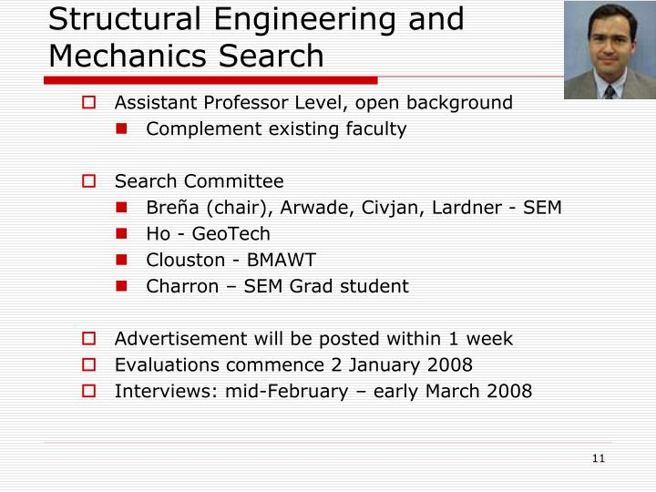 Structural Engineering and Mechanics Search