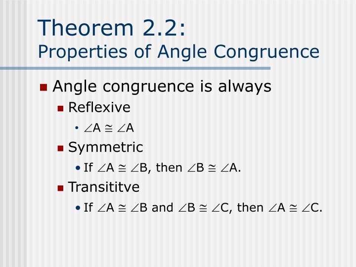 Theorem 2.2: