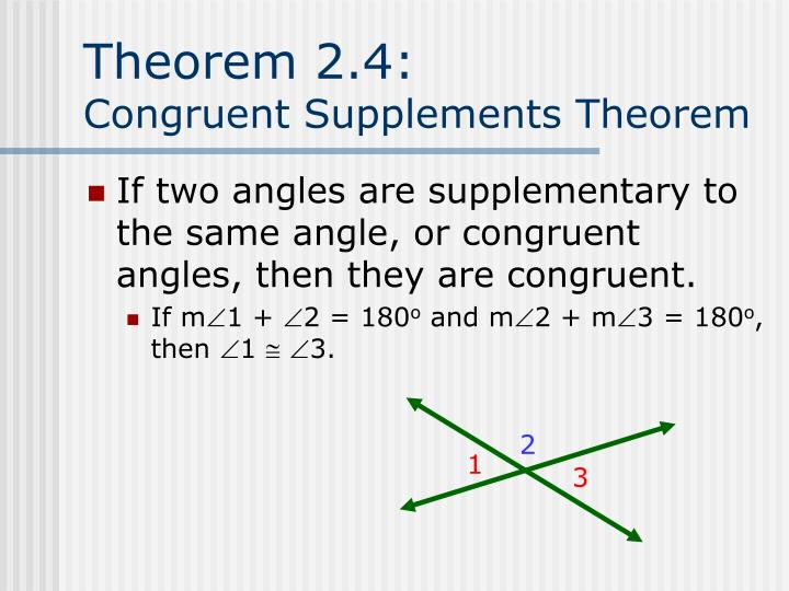 Theorem 2.4: