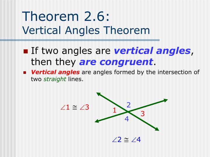 Theorem 2.6: