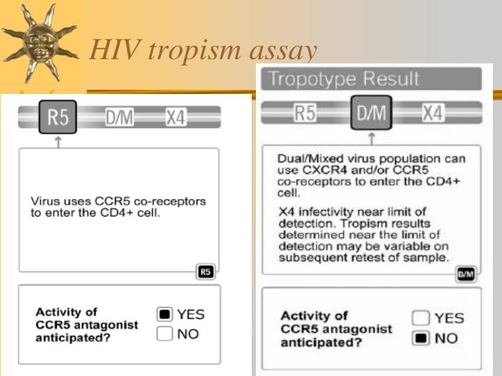 HIV tropism assay