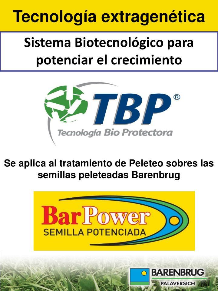 Tecnología extragenética