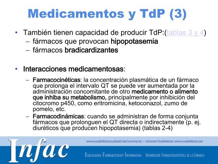 Medicamentos y TdP (3)
