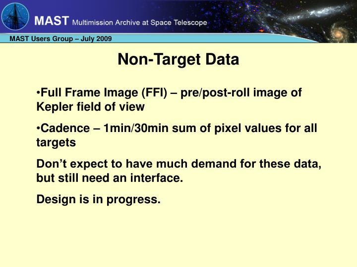 Non-Target Data