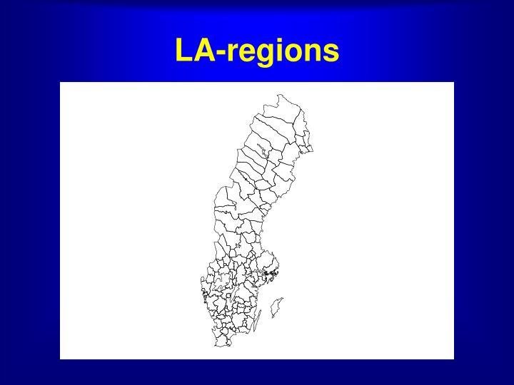 LA-regions