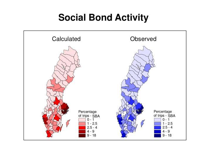 Social Bond Activity