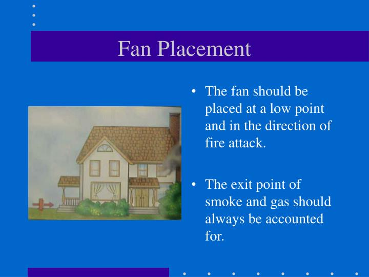 Fan Placement