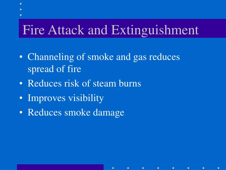 Fire Attack and Extinguishment