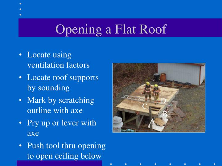 Opening a Flat Roof