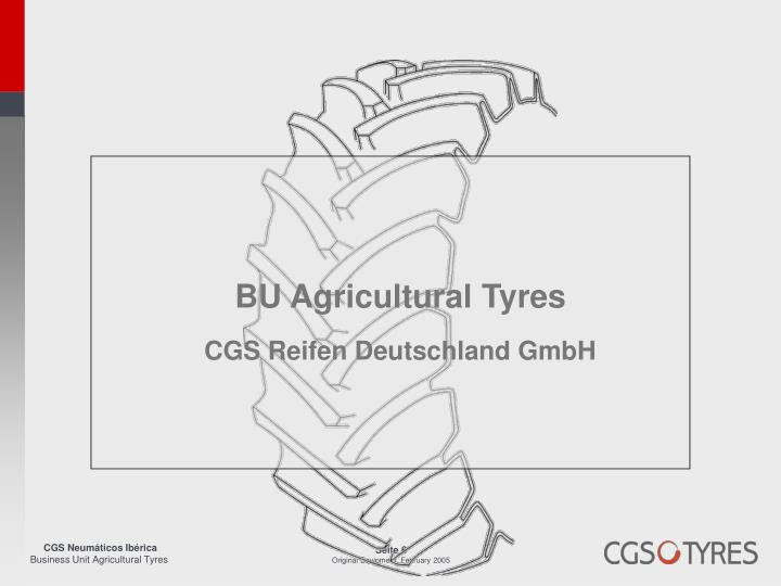 BU Agricultural Tyres