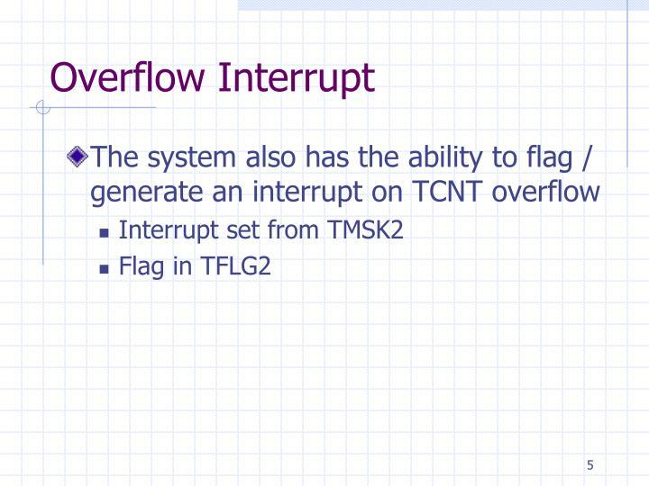 Overflow Interrupt