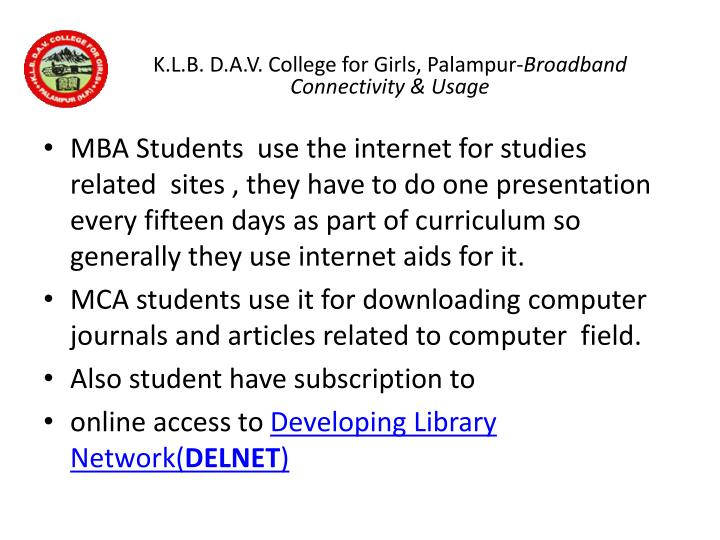 K.L.B. D.A.V. College for Girls,