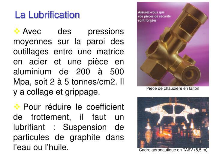La Lubrification