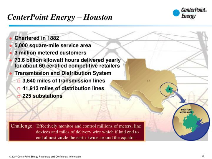 CenterPoint Energy – Houston