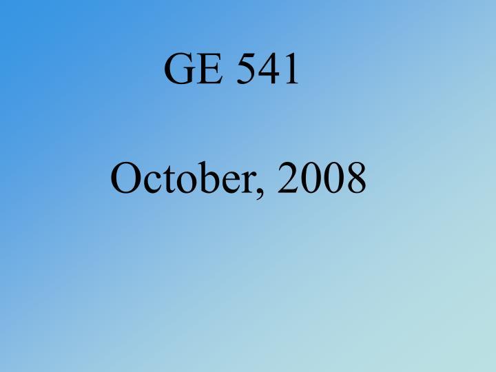 GE 541