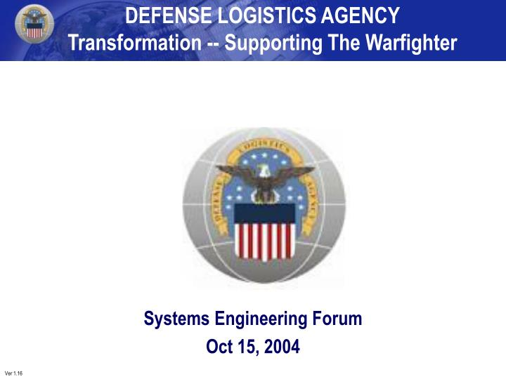 Systems engineering forum oct 15 2004