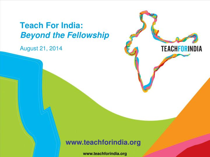 teach for india fellowship essays Statement of purpose and essays, previous work & internship experience teach for india fellowship internships at teach for india you should know about.
