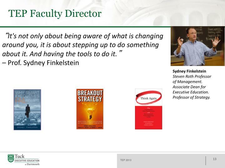 TEP Faculty Director