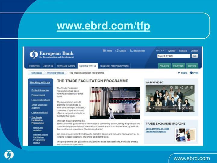 www.ebrd.com/tfp