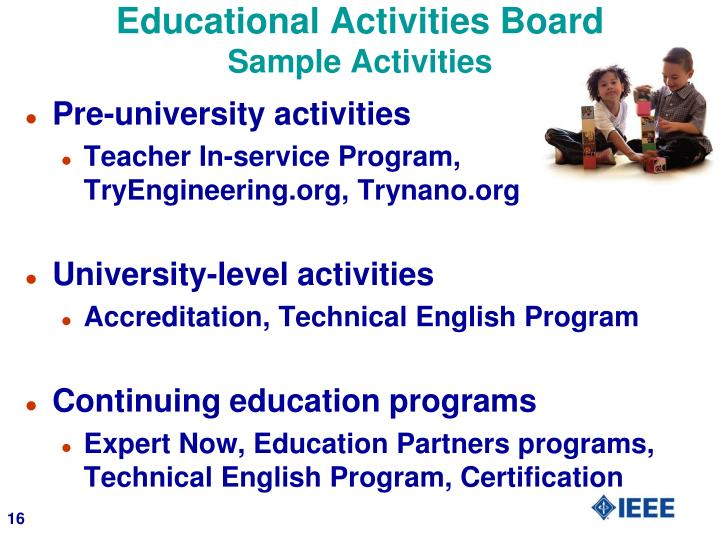 Educational Activities Board