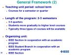 general framework 2