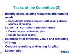 tasks of the committee 2