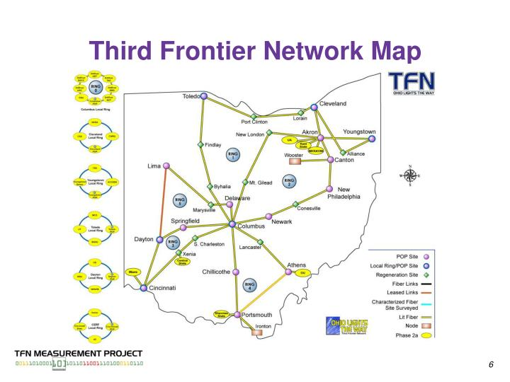 Third Frontier Network Map
