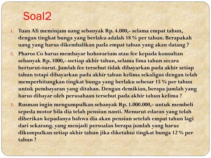 Soal2
