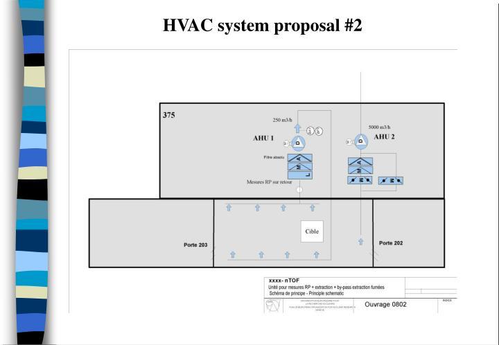 HVAC system proposal #2