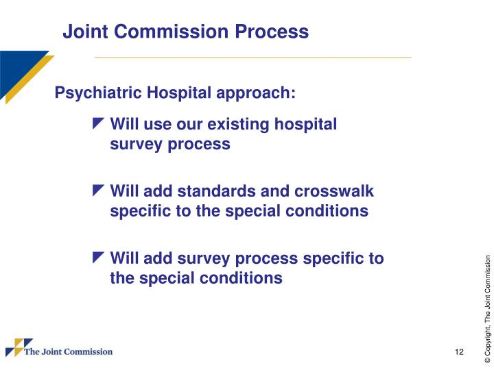Joint Commission Process