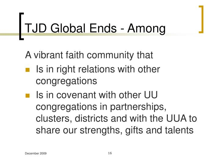 TJD Global Ends - Among