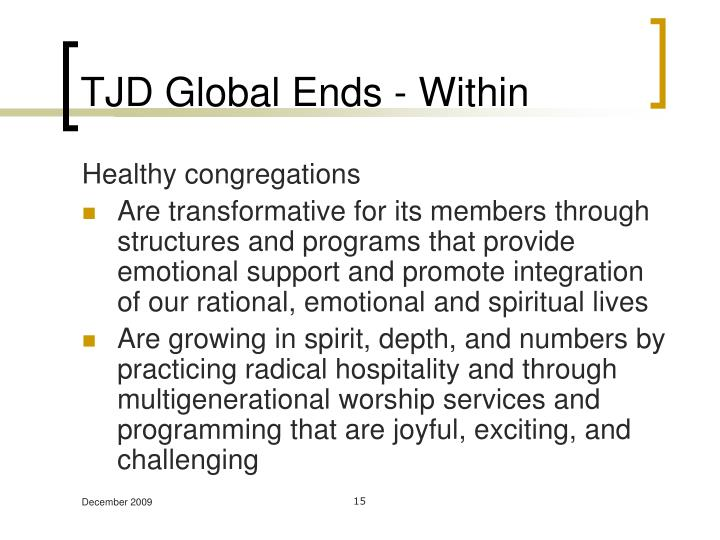 TJD Global Ends - Within
