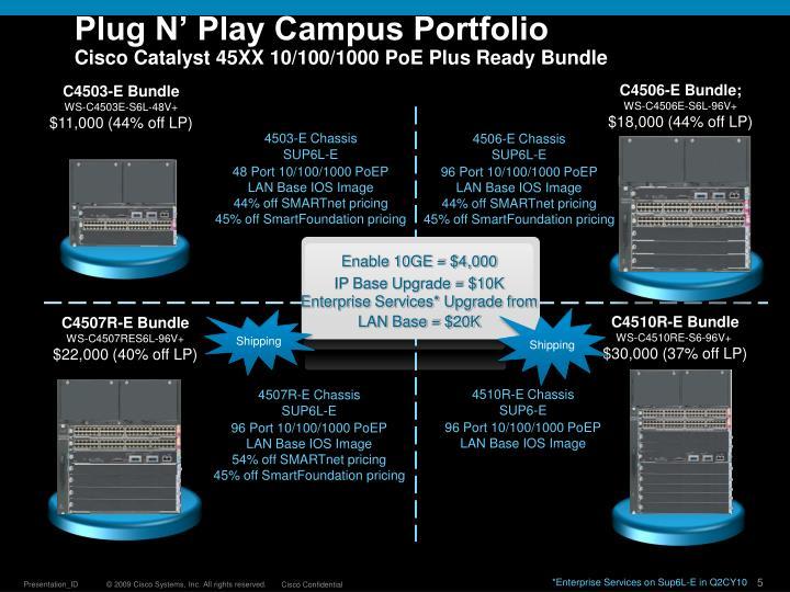 Plug N' Play Campus Portfolio