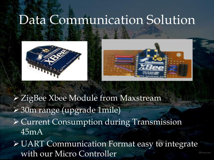 Data Communication Solution