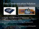 data communication solution